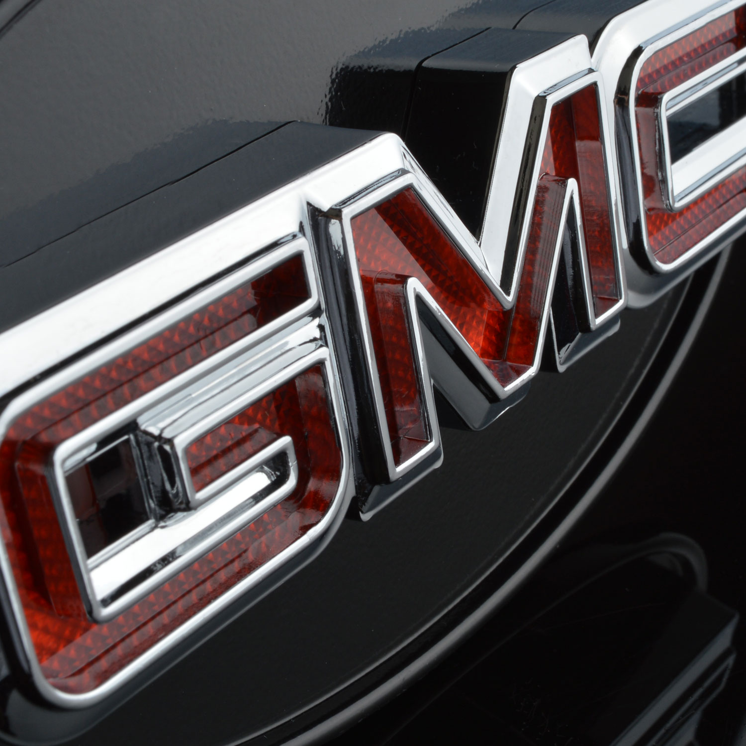 GMC hitch cover chrome