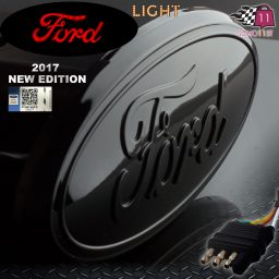 Ford hitch cover Black