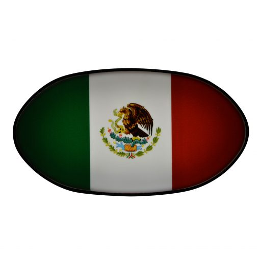 Mexico flag hitch cover