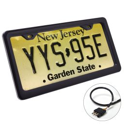Auto license frame Black