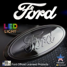 Ford grill emblem lighted